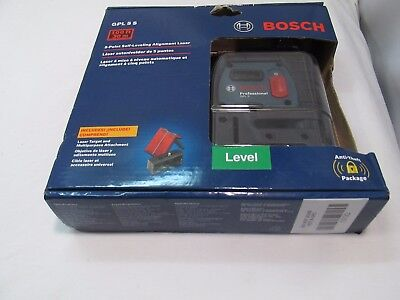 BOSCH (GPL 5 S) 5-Point Self-Leveling Alignment Laser / 100ft - 30m <*