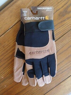 Carhartt Mens A659 The Dex II High Dexterity Work Gloves. Medium. NWT's