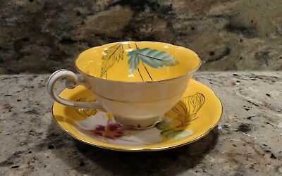 1 Large Vintage Trimont China Tea Cup & Saucer Made In  Occupied Japan
