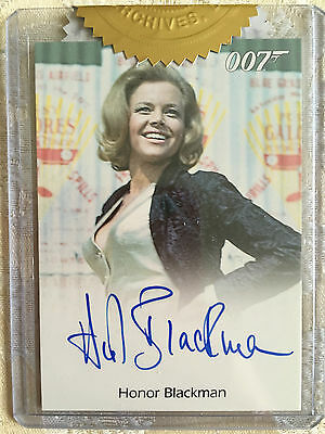 James Bond Classics 2016 Autograph Card Archive Box Exclusive Honor Blackman
