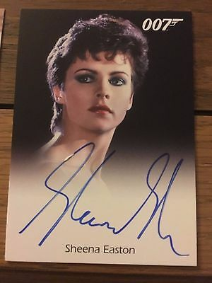 James Bond 2016 Spectre Edition Autograph Card Sheena Easton