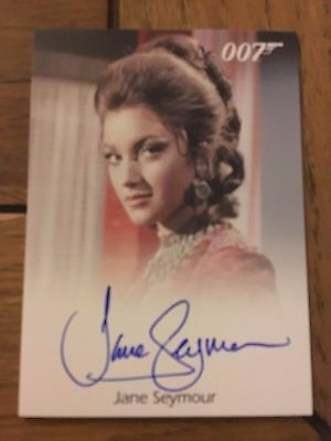 James Bond 2016 Spectre Edition Autograph Card Jane Seymour as Solitaire