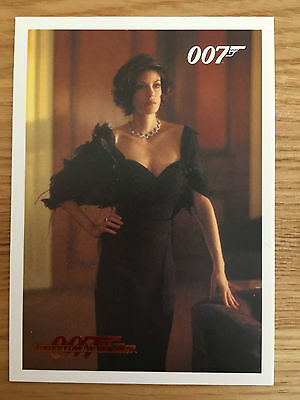 James Bond Archives 2014 Gold Foil Parallel Card 031 095/125 Tomorrow Never Dies
