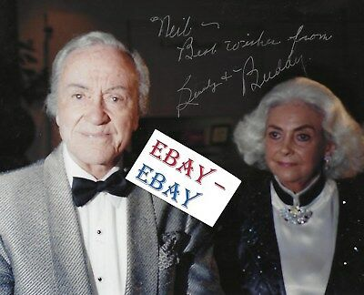 """CHARLES """"BUDDY"""" ROGERS SIGNED THIS ORIGINAL 8x10 COLOR PHOTO-  HE WAS IN """"WINGS"""""""