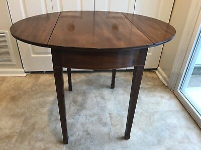Federal Drop leaf Pembroke Table | Cherry | unmarked | accepting offers