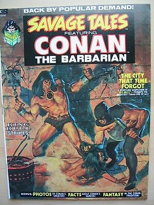 SAVAGE TALES # 2 Marvel Comics Conan the Barbarian VF 1973 Barry Smith Red Nails