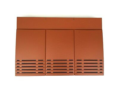 Plain Tile Roof Vent | Terracotta | 10 Colours Available | Smooth / Granular
