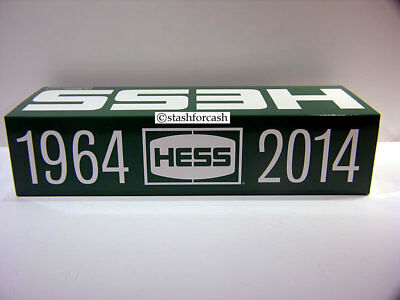 2014 Hess Toy Truck Tanker 50th Anniversary Rare Collector's Edition