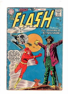 The Flash 118 Fair/Poor  Missing Back Cover Kid Flash Story