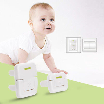 Set of 6 Socket Plug Protector Electric Power Point Outlet Cover Childproof Caps