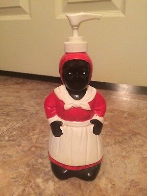 Black Americana Mammy Soap Dispenser