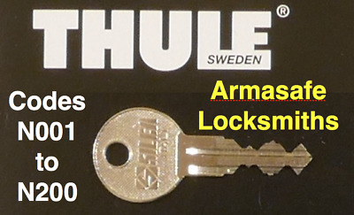 FREE DELIVERY Replacement Key for Halfords Roof Box CUT BY LOCKSMITHS