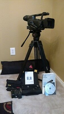 Panasonic AG-HVX200 3-CCD P2/DVCPRO HD Camcorder with Widescreen W/Tripod!