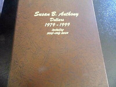 1979-1999 SUSAN B ANTHONY 16 coin set - PDS & Proof coins Complete Type 1