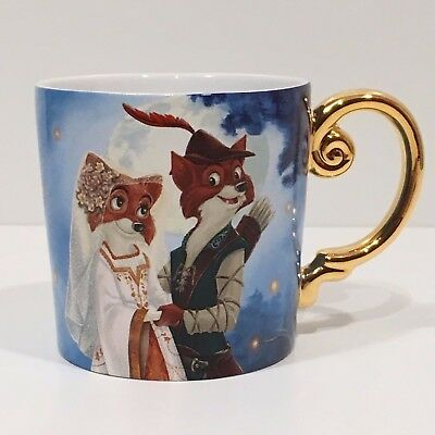 Robin Hood Marian Tasse Mug Fairytale Designer Collection Disney Store