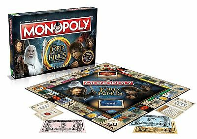 NEW Lord Of The Rings Monopoly - Trilogy Edition - Brand New & Sealed FAST P&P