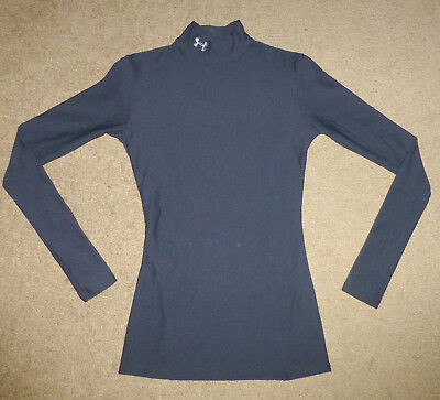 Womens Small S Under Armour UA Compression CG Baselayer Mock Base Layer Shirt