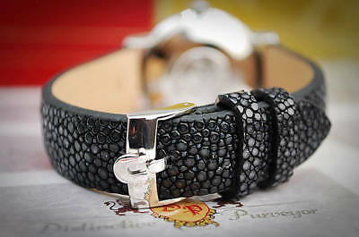 Omega Custom Stingray Leather 18Mm Strap For Your Vintage Watch-Best Quality!