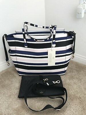 NWT KATE SPADE Kaykie Laurel Way Printed Baby bag Diaper