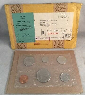 1968 Royal Canadian Mint Set - Brilliant Uncirculated - Canada