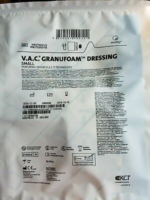 V.A.C. GranuFoam Dressing Small for KCI Wound VAC Therapy Box Of 5 Exp 2020
