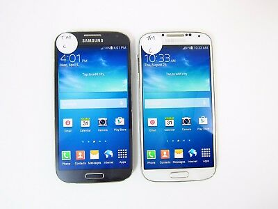 Lot of 2 Samsung Galaxy S4 M919 T-mobile Check IMEI C