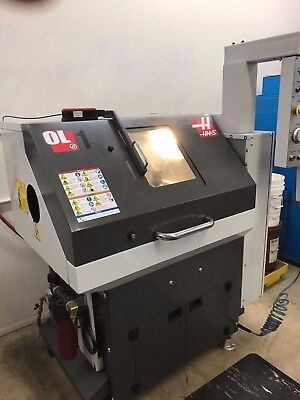 2015 Haas OL-1 Office Lathe only 900 hours! Great Condition
