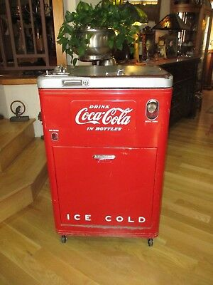 1950's Coke Vendo 23 Coca Cola Spin-top Spin Top Vending Antique Soda Machine