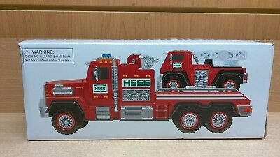 Hess Fire Truck And Ladder Rescue 2015 NEW