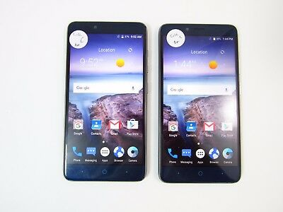 Lot of 2 ZTE Grand X Max 2 Z988 Cricket C