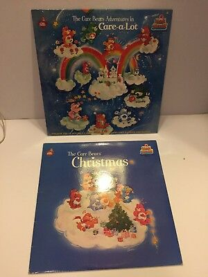 Vintage The Care Bears Adventure in Care a Lot SEALED Kid Stuff Record Christmas