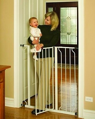 Regalo Walk Through Baby Gate Extra Tall Version Up To 41 Tall