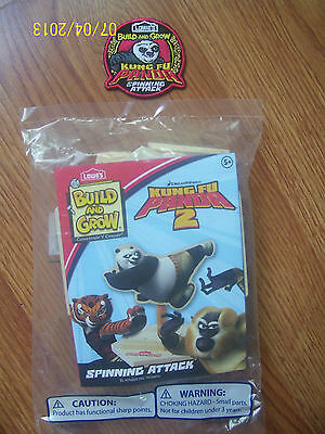 New Build And Grow Lowes Kung Fu Panda 2 Spinning Attack Wood Model With Patch