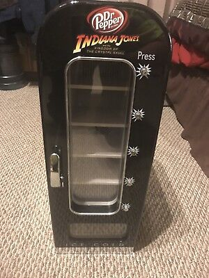 Dr Pepper Mini Vending Machine - Indiana Jones & Kingdom Of Crystal Skull L@@k!