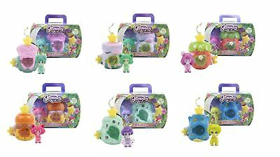Set of 6 Glimmies Fairy in House - Glimmies Llight-Up Function