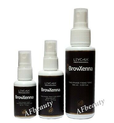 Brow Henna Liquids and accessories for biotattoo by Lash&Brow henna
