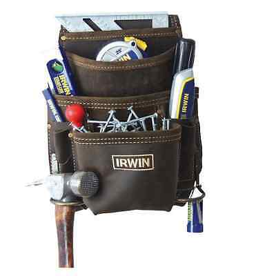 Irwin Pouch Oil Tanned Nail And Tool 10 Pocket