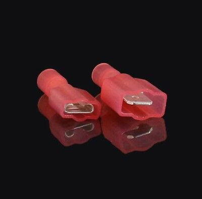 """1000 Pack 22-18 AWG Male & Female Fully Insulated Nylon Quick Disconnect .250"""""""
