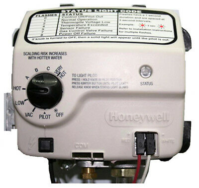 Reliance Honeywell Electronic Natural Gas Water Heater Control Valve 9007884
