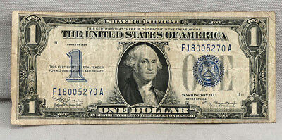 1934  $1 United States  FUNNY BACK Silver Certificate Note!