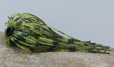 Bob4Bass Water Scorpion Hole In One Jig Skirt 12 Various Skirt Colors