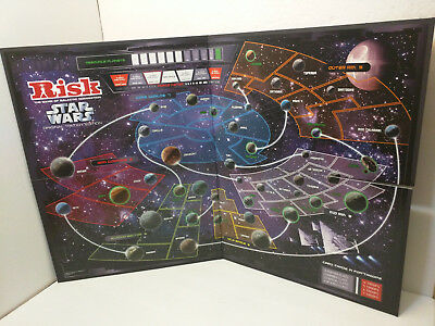 Star Wars Original Trilogy Risk 2006 Hasbro Replacement Board - BOARD ONLY