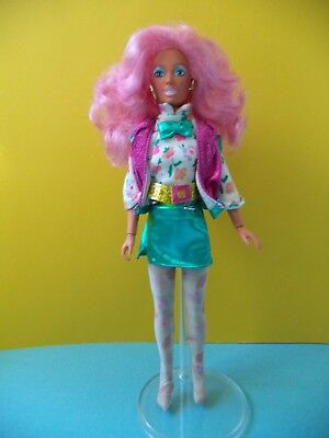 "1986 JEM and the Holograms - Vintage ""Raya"" doll & accessories Hasbro A13-83"