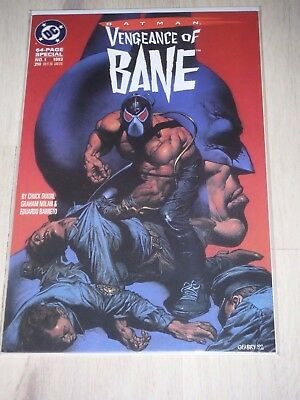 Batman Vengeance of Bane 1 NM/VF 1st appearance of Bane!!!