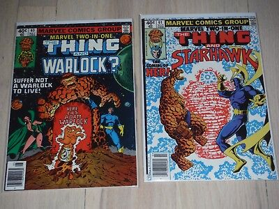 Marvel Two In One #61 & 63 VF/Fine 1st appearance of Her!!!!