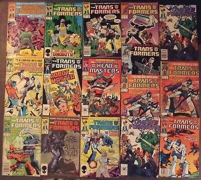 Transformers....lot of 16 Marvel Comics