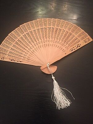 Fan Wood Laser Cut Japanese Anime Scented
