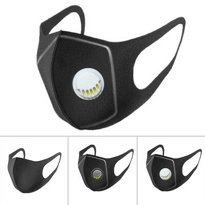 3Pcs/Set Cycling Anti Dust Haze Sponge Mouth Face Mask Respirator For Adult /Kid