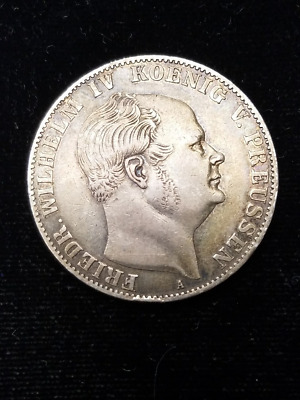1859 A Thaler Prussia Germany
