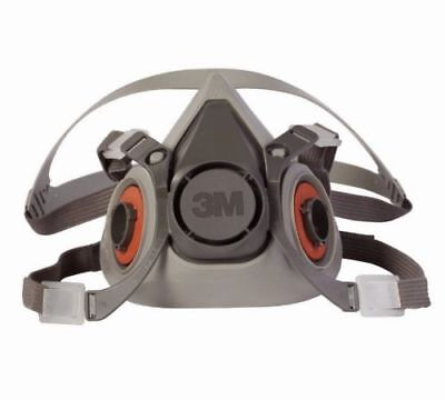 3M respirator lens covers and reusable half mask respirators